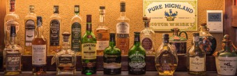 Pub Stella d'Oro Gemona Del Friuli Whiskey selection international american and irish whiskies